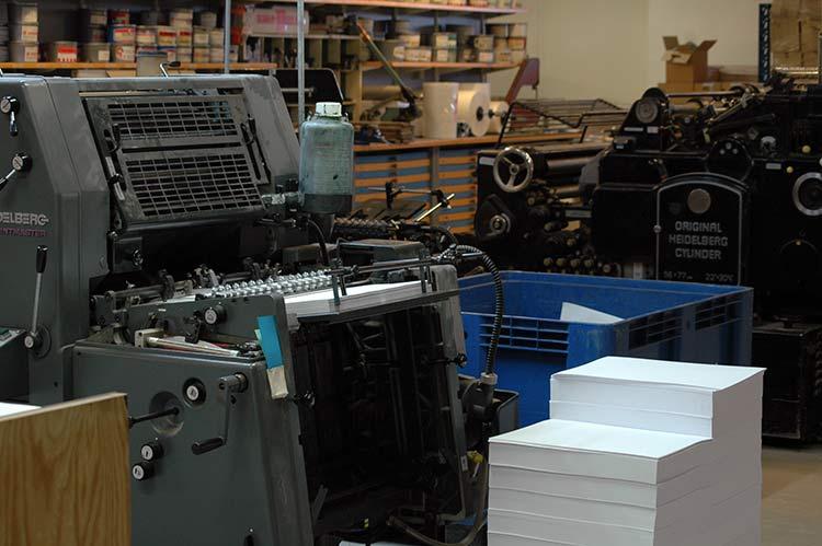 Ældre trykmaskiner