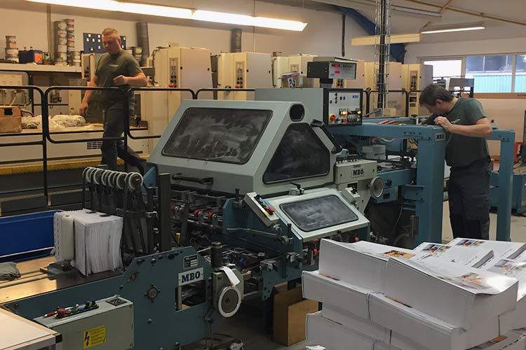Fra trykkeri til bogbinderi