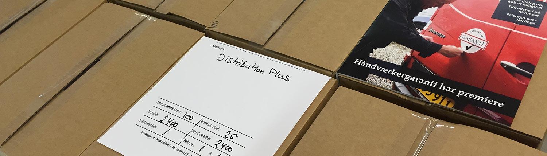 Pakning og forsendelse