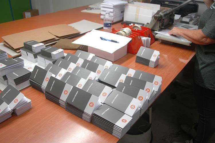 Produktion af bankbøger