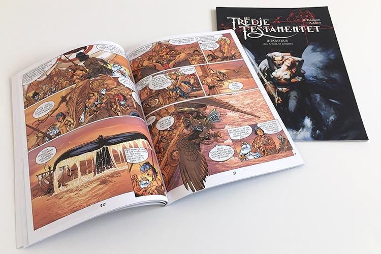 Digitaltryk af tegneserie